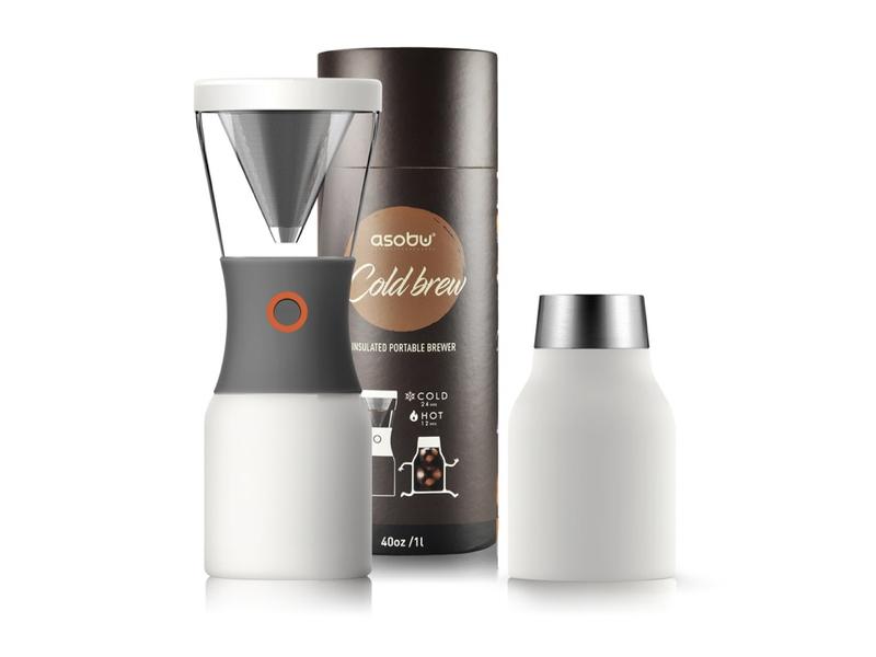 Asobu 冷萃咖啡壺 白色