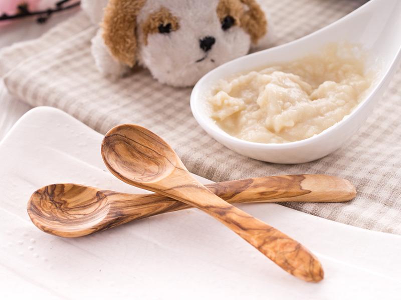 橄欖木兒童湯匙組