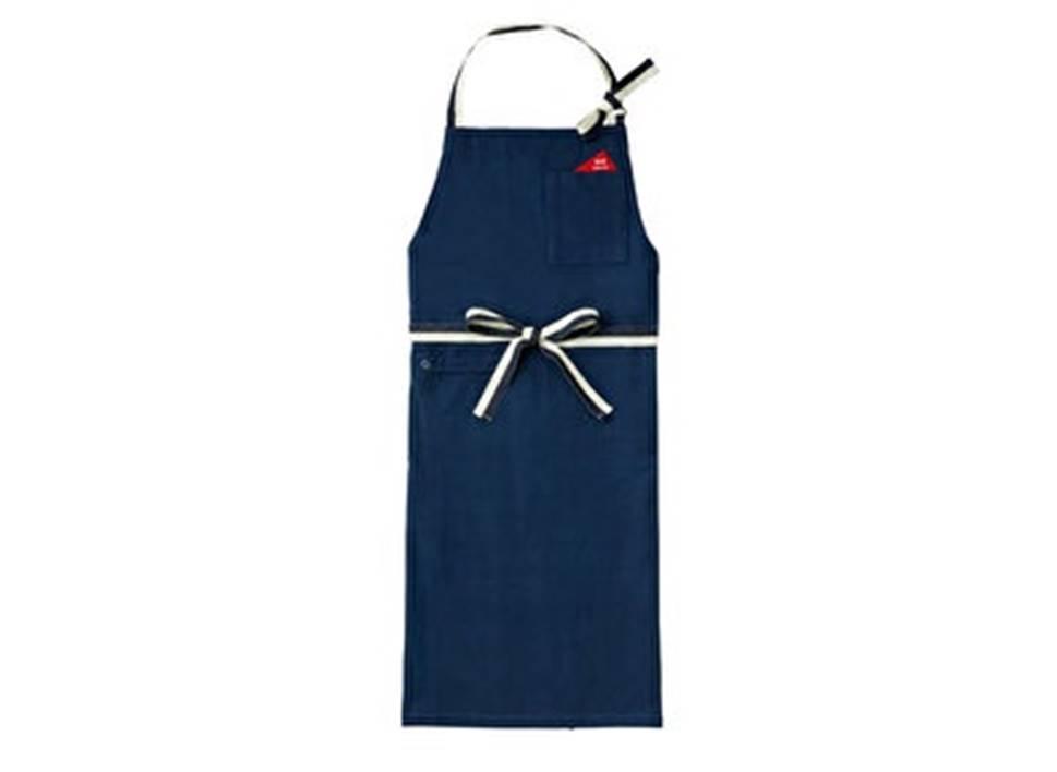 BRUNO食尚棉質料理工作圍裙-細帶(海軍藍)