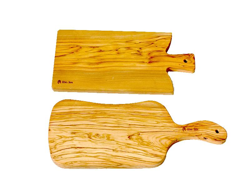 精選橄欖木砧板組 A