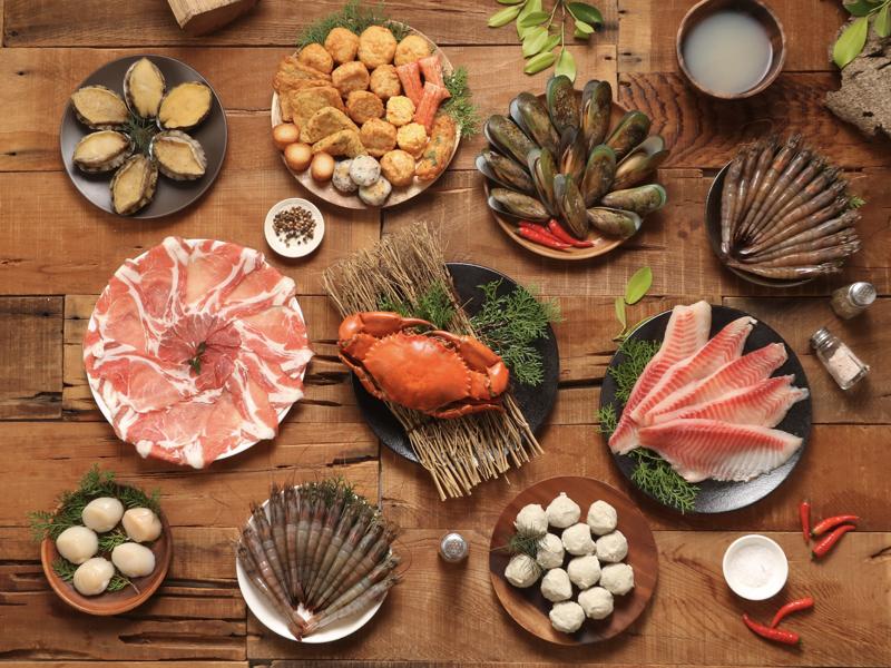 奢華干貝鮑魚火鍋(5~7人)