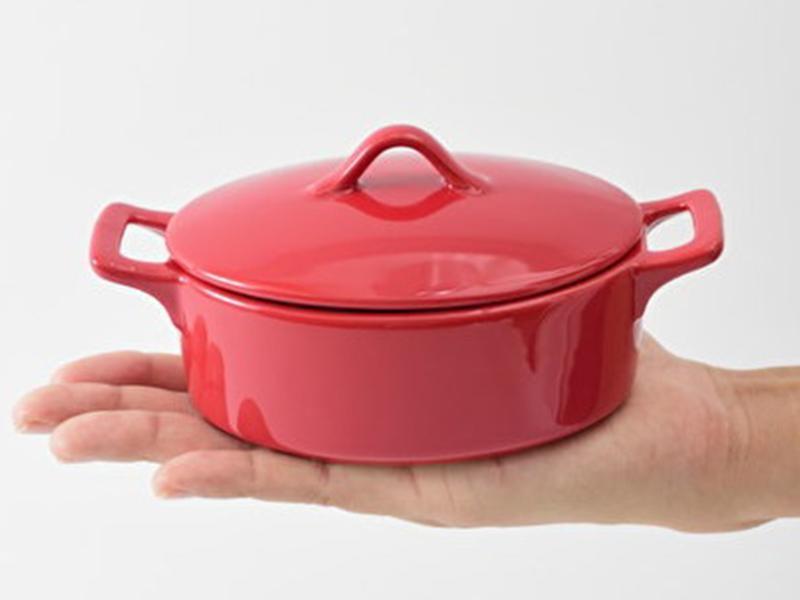 陶瓷小鍋(橢圓形)