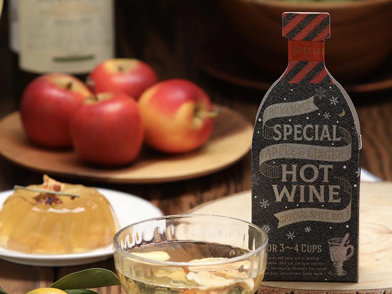 派對熱紅酒香料包-蘋果薑汁