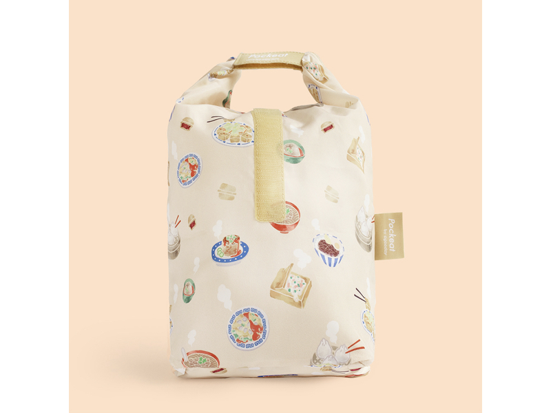 Pockeat 食物袋(大)台灣小吃