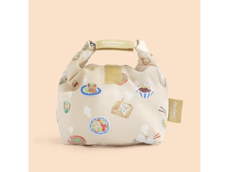 Pockeat 食物袋(小)台灣小吃