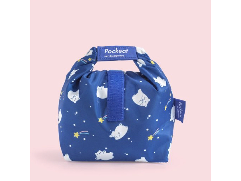 Pockeat 食物袋(小)流星白白