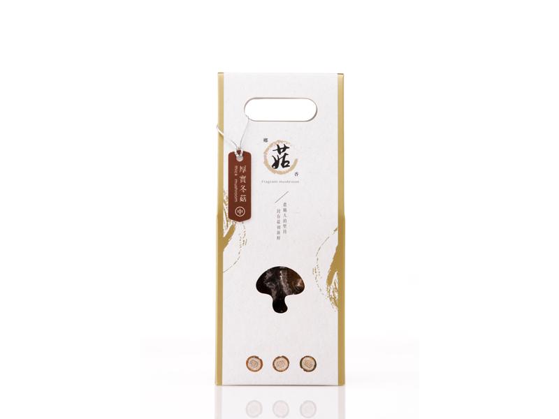 有機黑早特級冬菇(厚實中菇-60g)