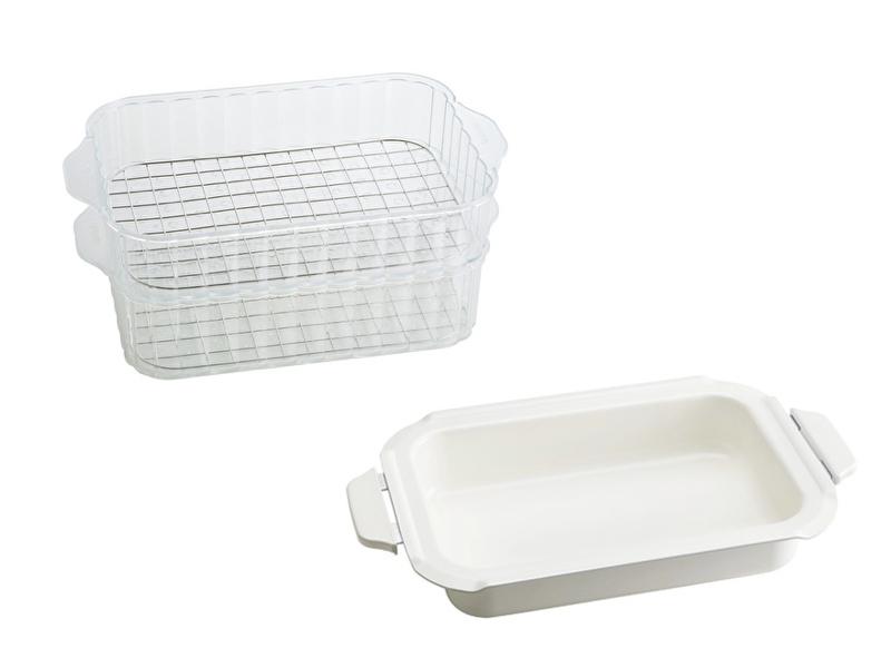 【配件】陶瓷料理深鍋+蒸籠