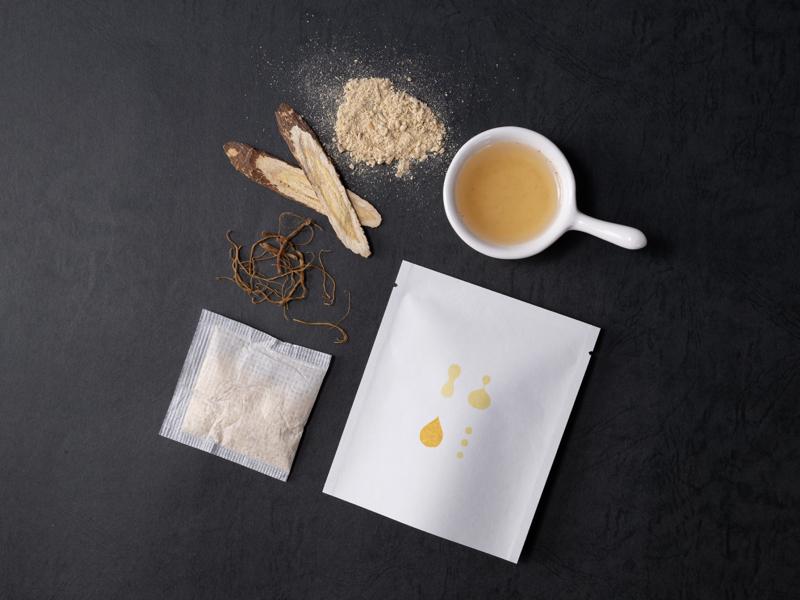 潤顏粉光茶