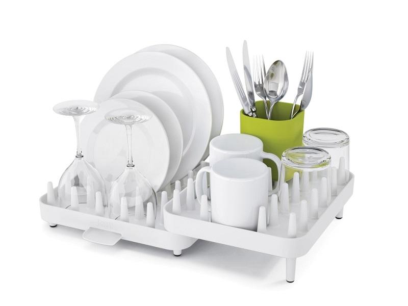 可調式碗盤瀝水架三件組