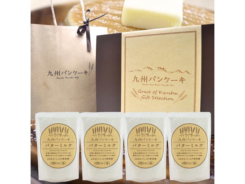 九州Pancake經典牛奶鬆餅粉4入禮盒