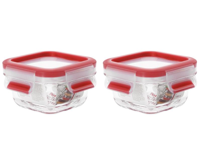 玻璃保鮮盒 0.2L(2入)