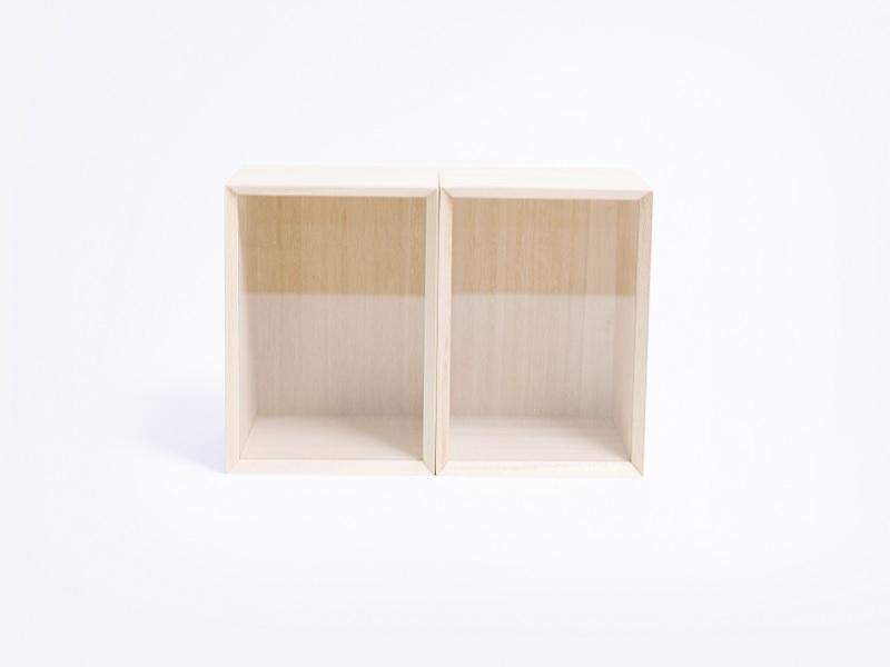 Kirihaco 儲物盒(長型)- S 兩入組