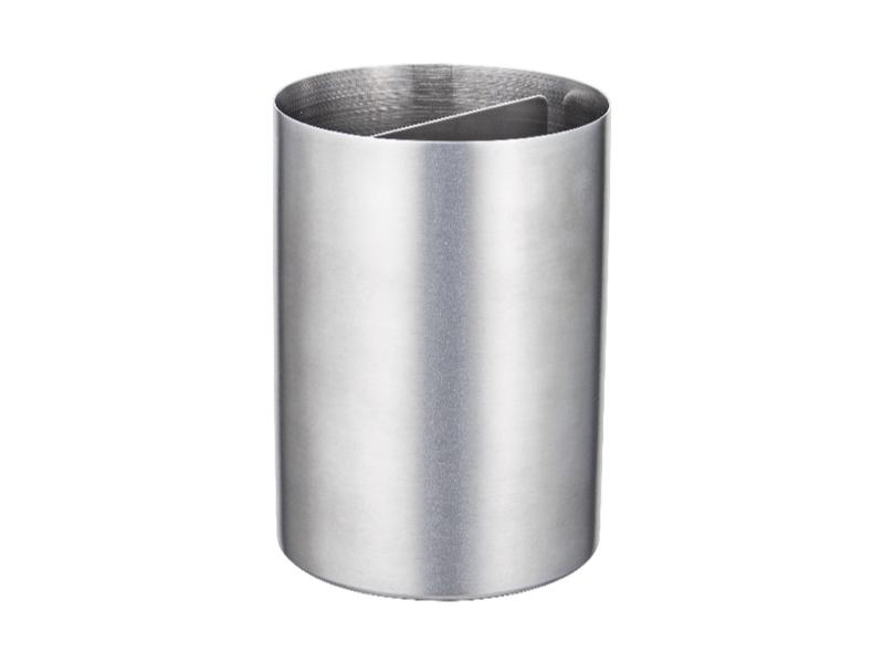 不鏽鋼可拆式兩用調理器具收納桶 11cm