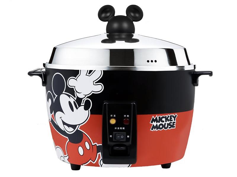 Disney 米奇系列不鏽鋼電鍋 經典紅