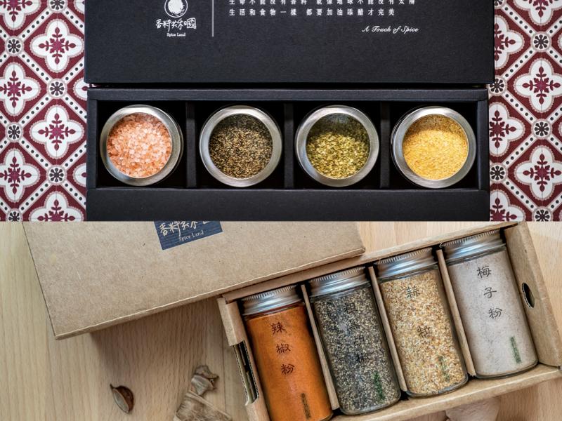 【熱銷推薦】磁吸金屬香料罐禮盒(贈:經典風味香料禮盒)
