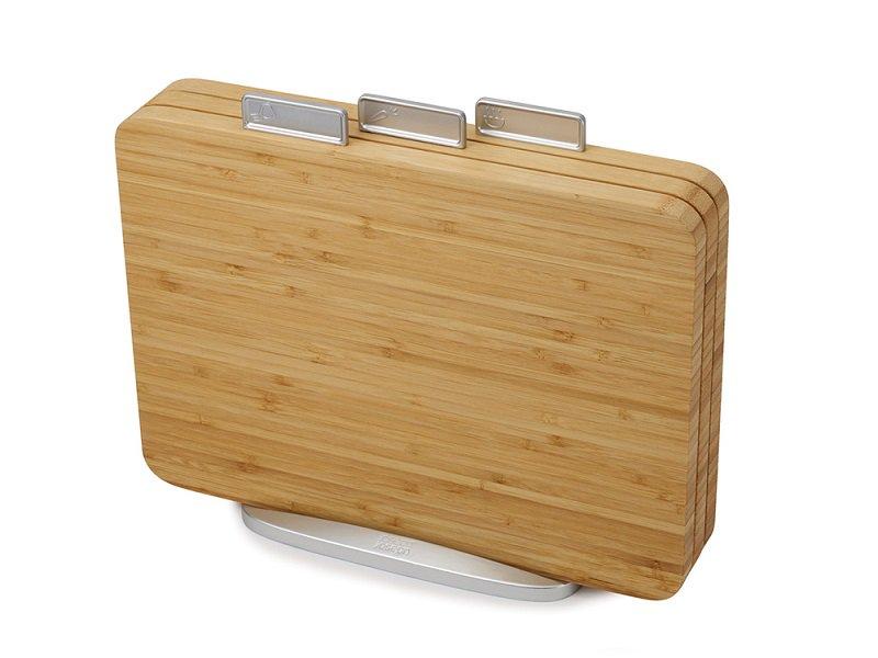 檔案夾止滑砧板組-竹