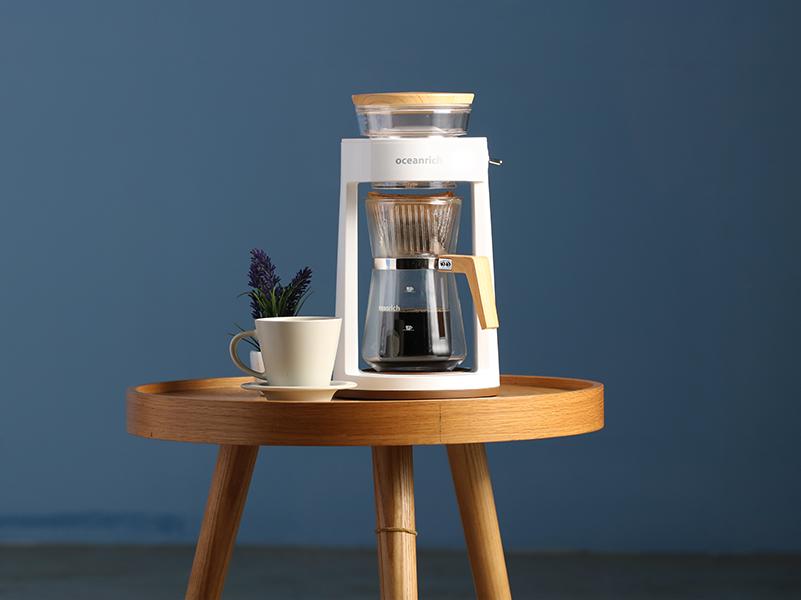 完美萃取旋轉咖啡機 白色(贈:濾紙)