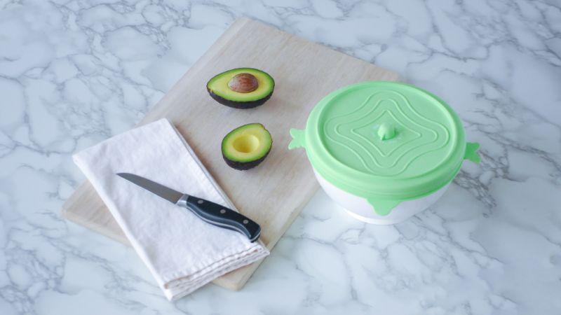 環保萬用保鮮蓋 蜜糖綠