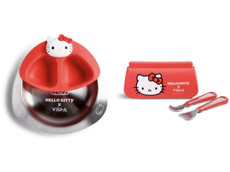 Hello Kitty 用餐套組+幼兒外出組